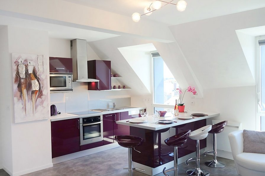 Apartment in France, La Gare-Marville