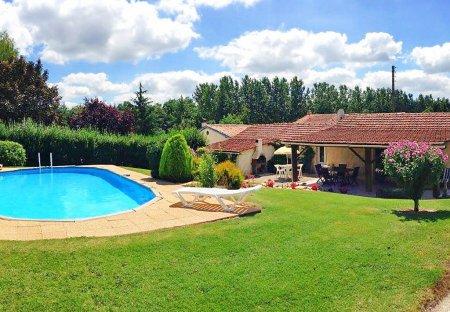 Farm House in Condéon, France