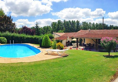 House in Condéon, France