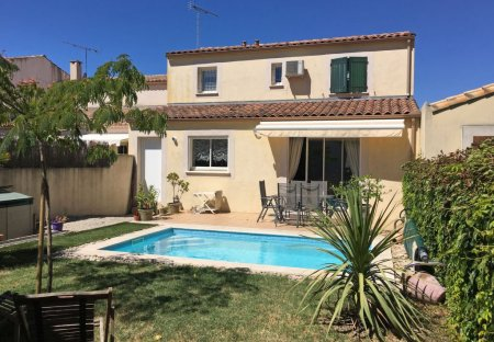 House in Aigues-Mortes, the South of France