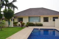 Villa in Thailand, Nongprue: Villa from Pool side