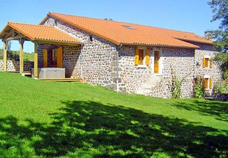 House in Solignac-sur-Loire, France