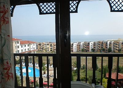 Apartment in Bulgaria, Sveti Vlas: Balcony View St Vlas Apartment