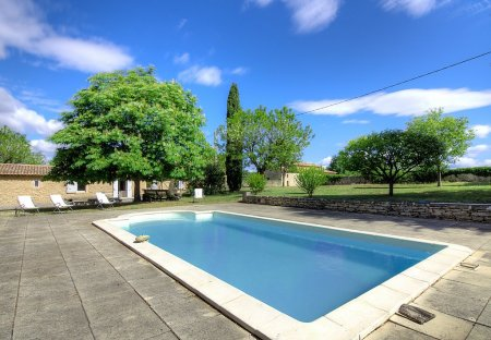 House in Bonnieux, the South of France