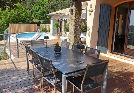 House in Bormes-les-Mimosas, the South of France