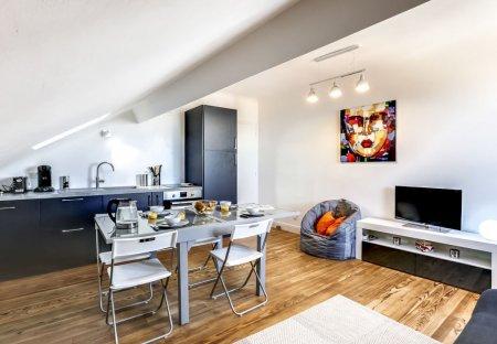 Penthouse Apartment in Les Rocailles-Lahouze, France