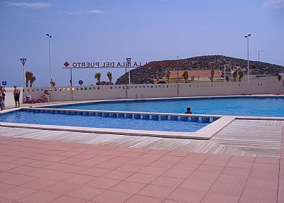 Apartment in Spain, Puerto de Mazarrón: swimming pool