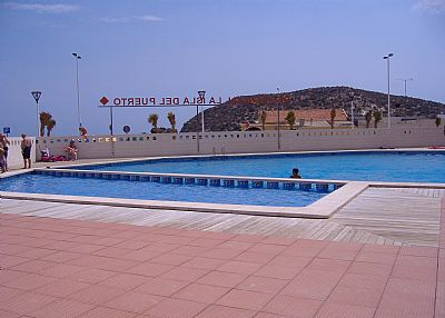 Apartment in Spain, Puerto de Mazarron: swimming pool
