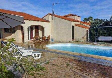 Villa in Sainte-Marie-la-Mer, the South of France