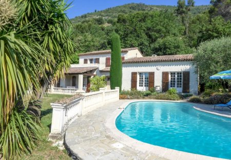 House in Gattières, the South of France