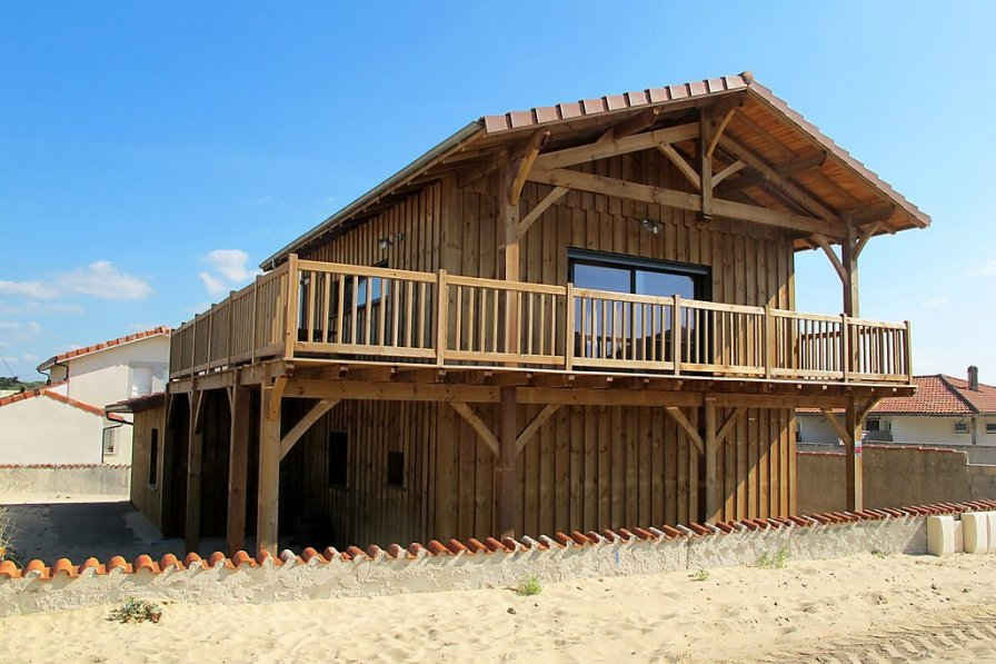 House in France, Plage