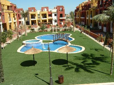 Apartment in Spain, Llomas de Cabo Roig: outdoor swimming pool