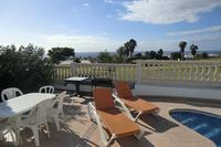 Villa in Spain, Amarilla Golf: Wonderful sea views from the pool area
