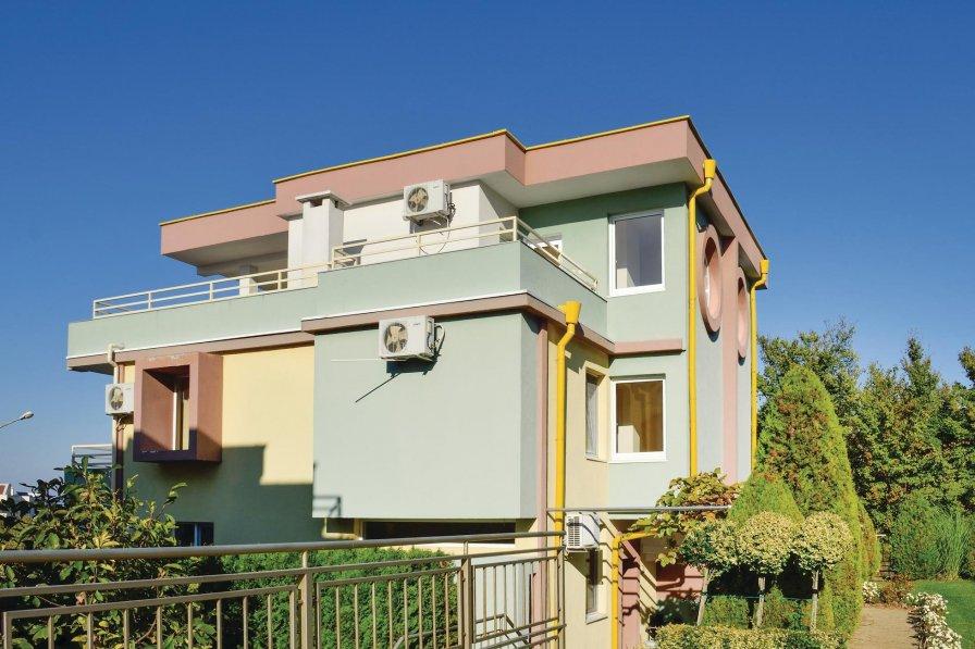 Budzaka holiday villa rental with shared pool