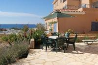 Apartment in Cyprus, Kato Paphos: Patio with sea views