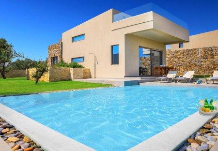 Villa in Agia Marina, Crete: Iskios Dio - Crete