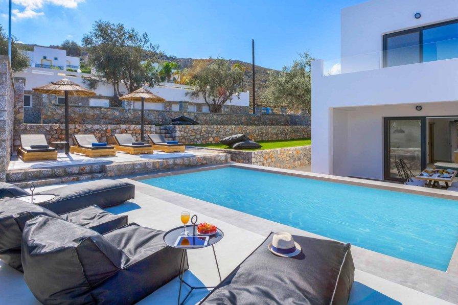 Villa in Greece, Lindos: Lambis Athina - Rhodes