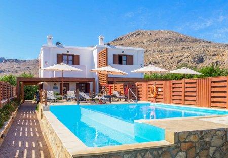 Villa in Lindos, Rhodes: Lindos Ruby - Rhodes