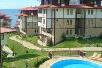 Apartment in Bulgaria, Sveti Vlas: sea views from the balcony