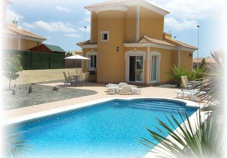 Villa in Mazarrón Country Club, Spain: Villa and Private Pool