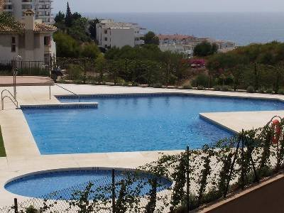 Apartment in Spain, Mijas: Main Pool