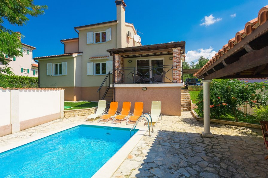 Villa in Croatia, Buići (Istria)