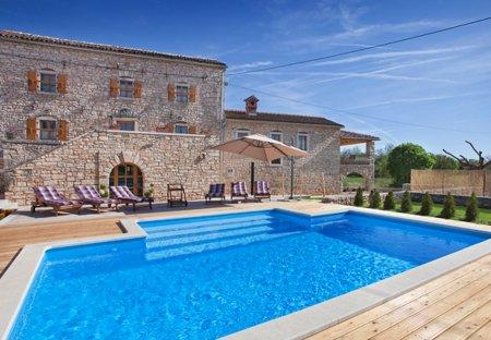 Villa in Pifari, Croatia
