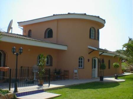 Villa in Spain, Urb. Don Pedro: Villa Tranquilla from the gardens.