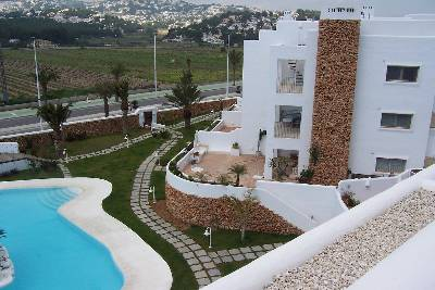 Apartment in Spain, Moraira Town: THE CLUB MORAIRA COMPLEX