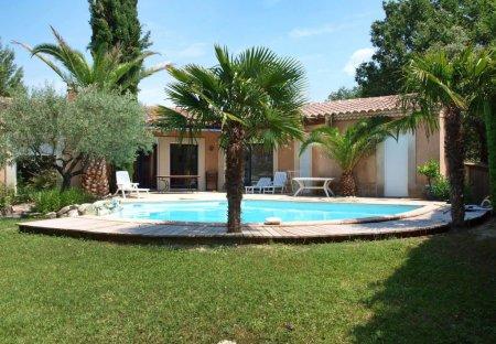 Villa in Vic-le-Fesq, the South of France