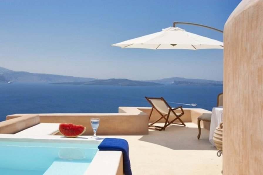 THE CODE 2 BEDROOMS VILLA OIA SANTORINI !