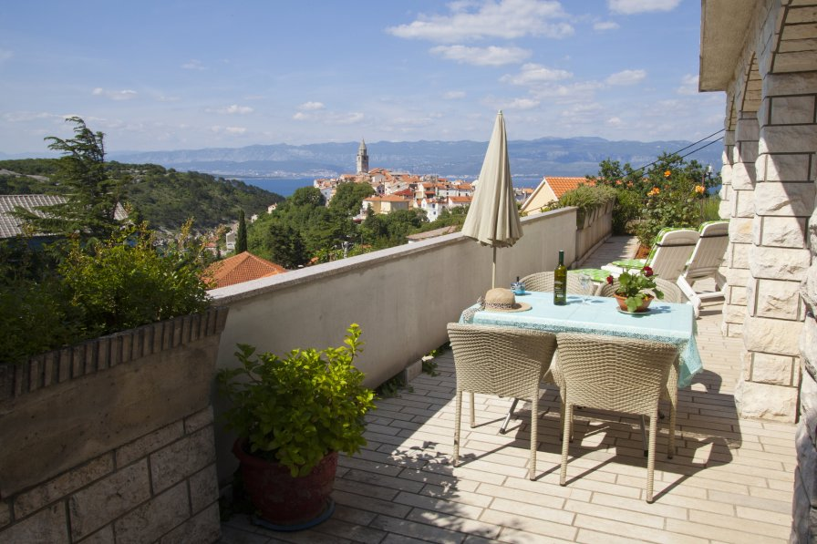 Apartment in Croatia, Vrbnik