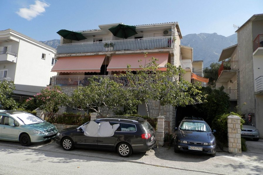 Studio apartment in Croatia, Makarska