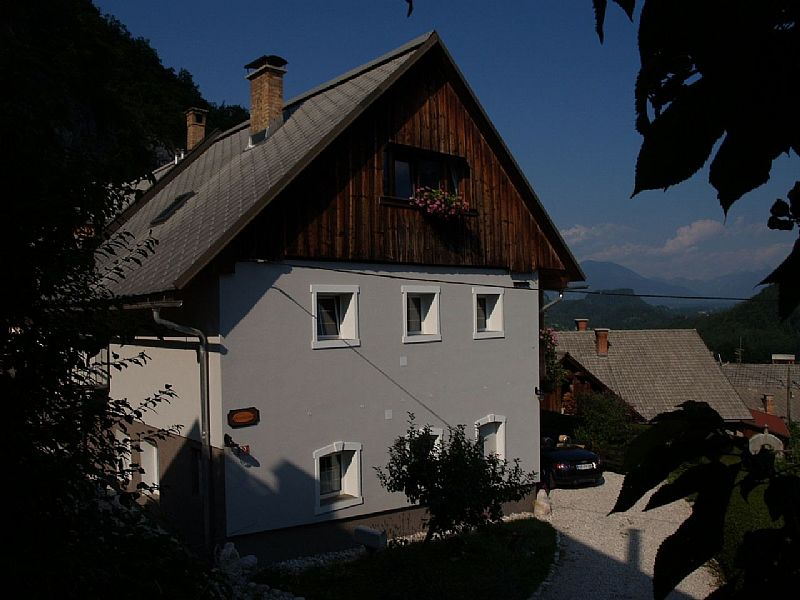 Apartment in Slovenia, Bled: The front of the Farmhouse
