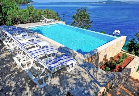 Villa in Maslinica, Croatia