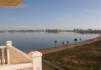 Apartment in Spain, Playa Paraíso (Cartagena): View From The Balcony