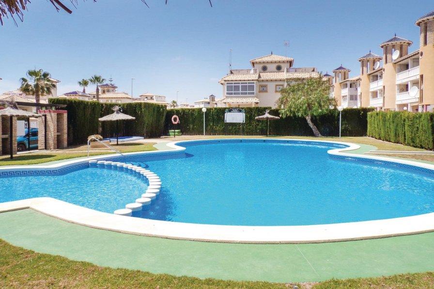 Villa rental in La Zenia with shared pool