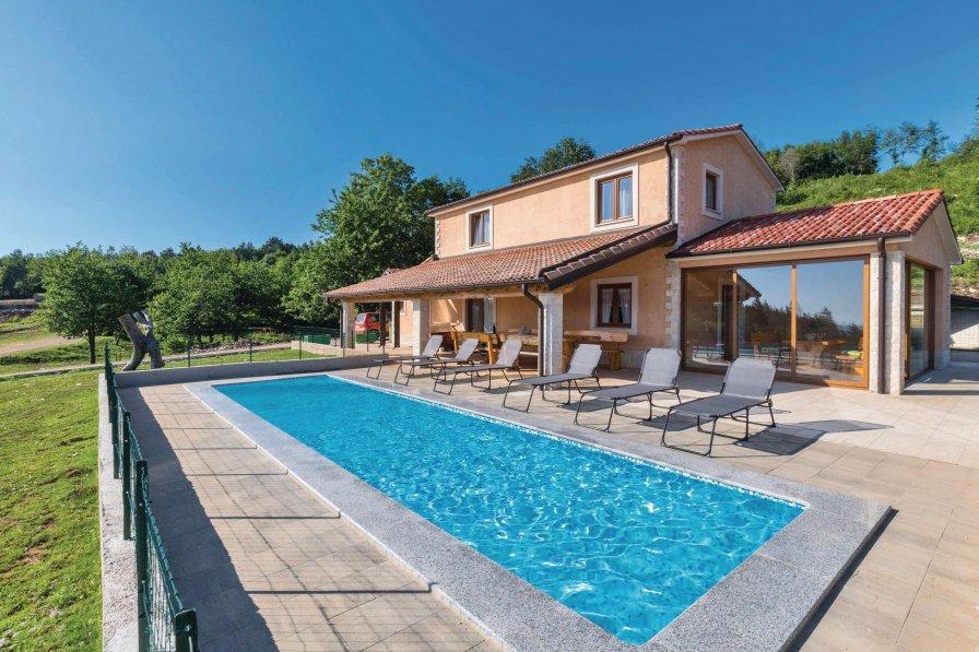 Villa in Croatia, Brest Pod Učkom