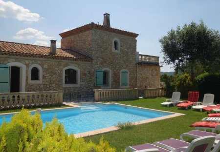 House in Rognes, the South of France