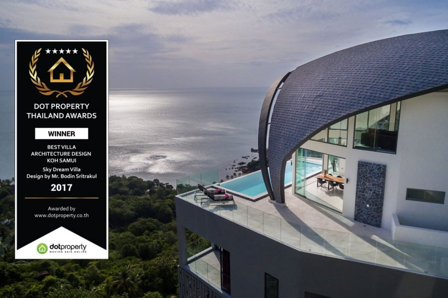 Luxury Sky Dream Villa with panoramic Sea View