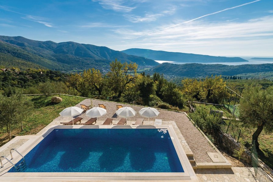 Owners abroad Villa rental in Herceg Novi with swimming pool