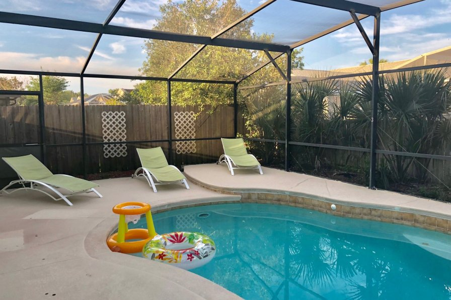 Deluxe Holiday 4Bd Pool House in Disney (Home Six)