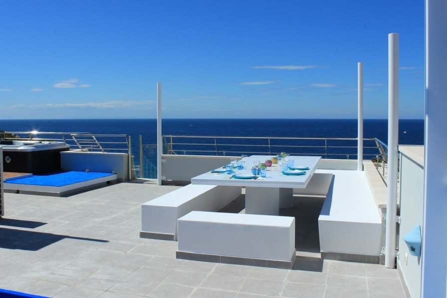 Penthouse apartment in Spain, Cala Tarida