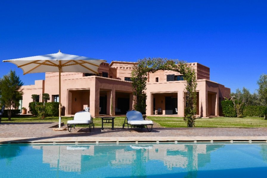 Villa with swimming pool in Sidi Youssef Ben Ali