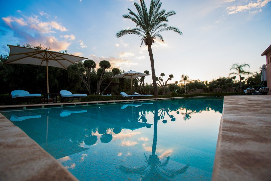Villa with private pool in Sidi Youssef Ben Ali, Morocco