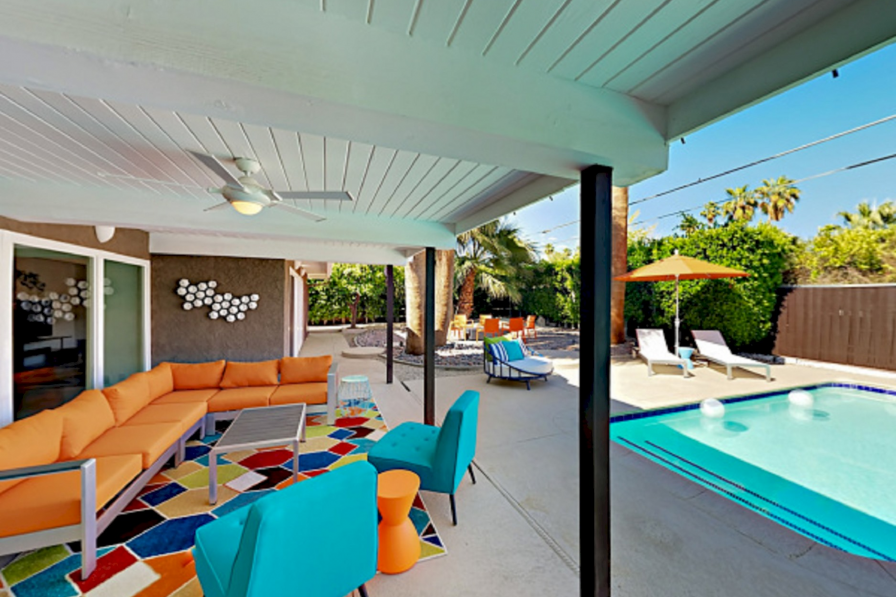 Holiday home rental in Palm Springs
