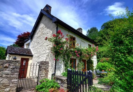 Cottage in Hay-on-Wye, Wales