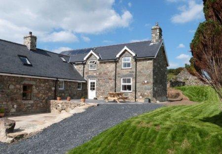 House in Llanegryn, Wales