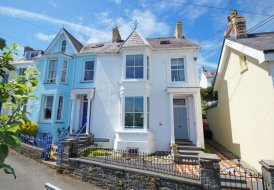 House in New Quay, Wales