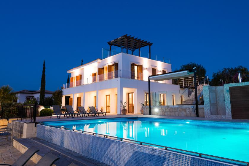 Villa To Rent In Aphrodite Hills Cyprus With Private Pool